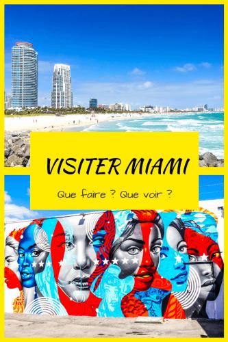 Visiter Miami et que faire Pinterest