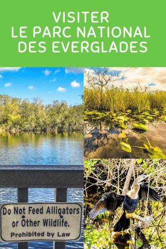 Visiter Parc National des Everglades Pinterest