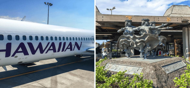 Se déplacer en avion pour visiter Hawaii et aéroport de Big Island