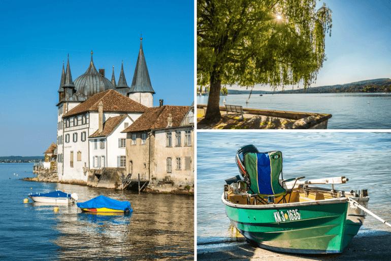 Visiter Steckborn et son bord du Lac de Constance