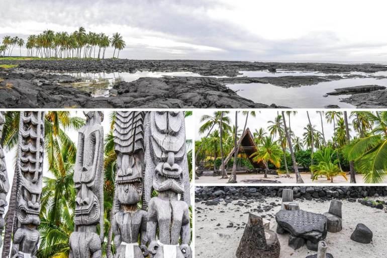 Pu'uhonua o Honaunau National Historical Park Big Island