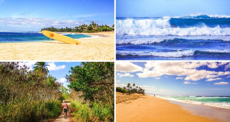 Plages du Nord Surf Oahu