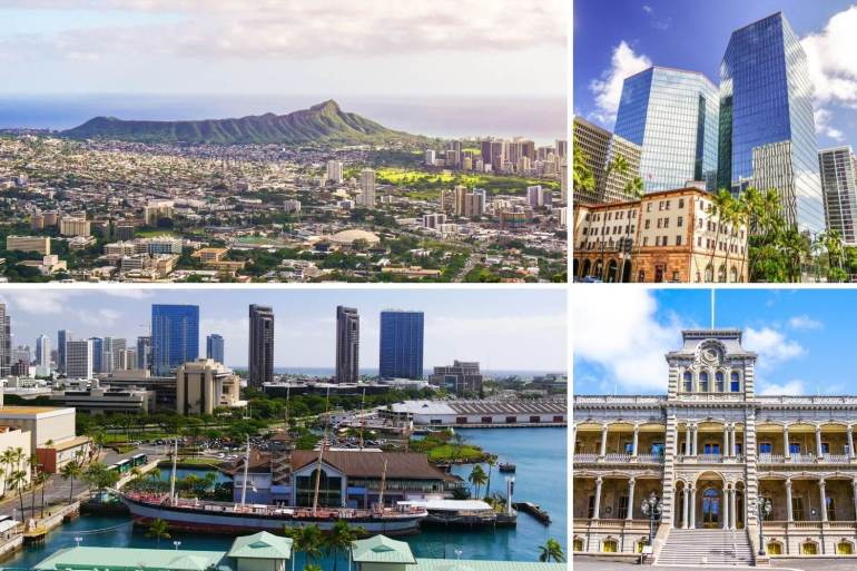 Vues de Honolulu Oahu