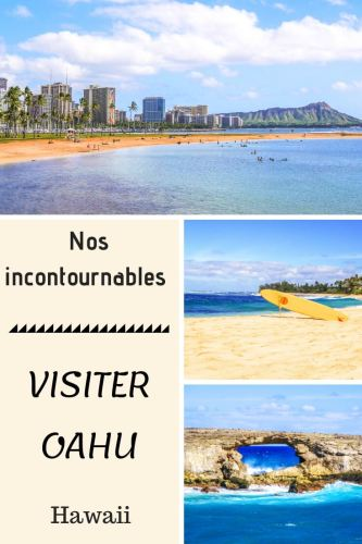 Visiter Oahu Hawaii Pinterest