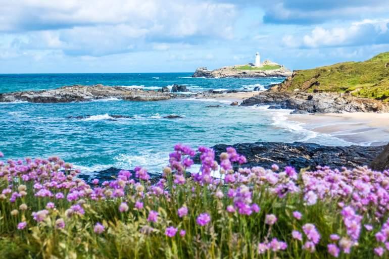 Godrevy Lighthouse aux Cornouailles