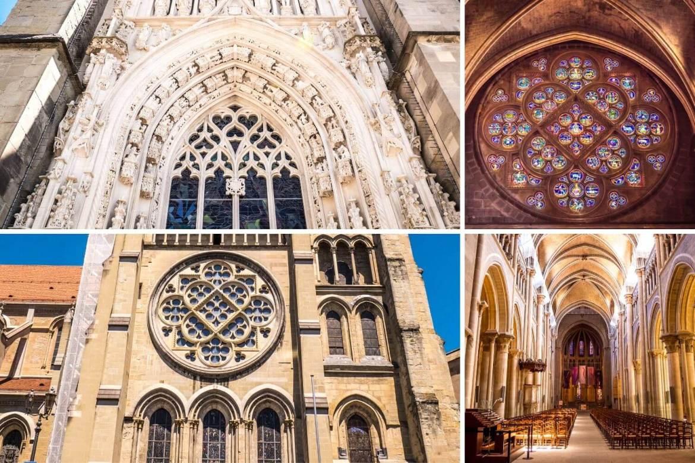 Architecture Cathédrale de Lausanne
