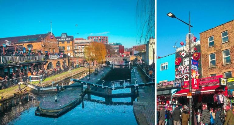 Visiter Camden Town à Londres