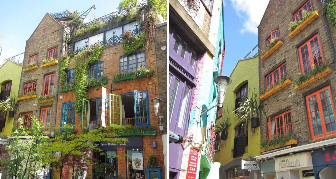 Neal's Yard Covent Garden Londres