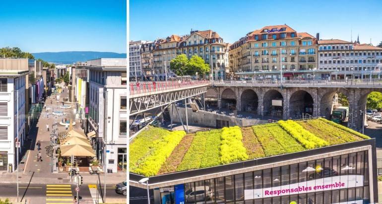 Quartier du Flon Lausanne