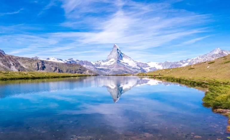 Stellisee Cervin randonnée des 5 lacs à Zermatt