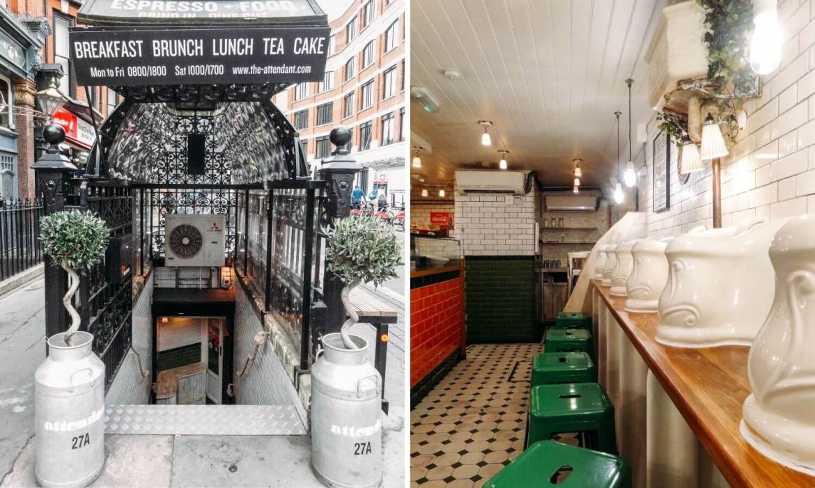 The Attendant Cafe Fitzrovia Londres