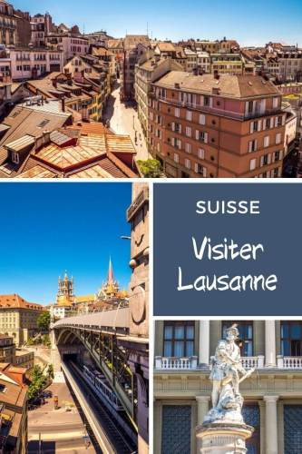 Visiter Lausanne ville Pinterest