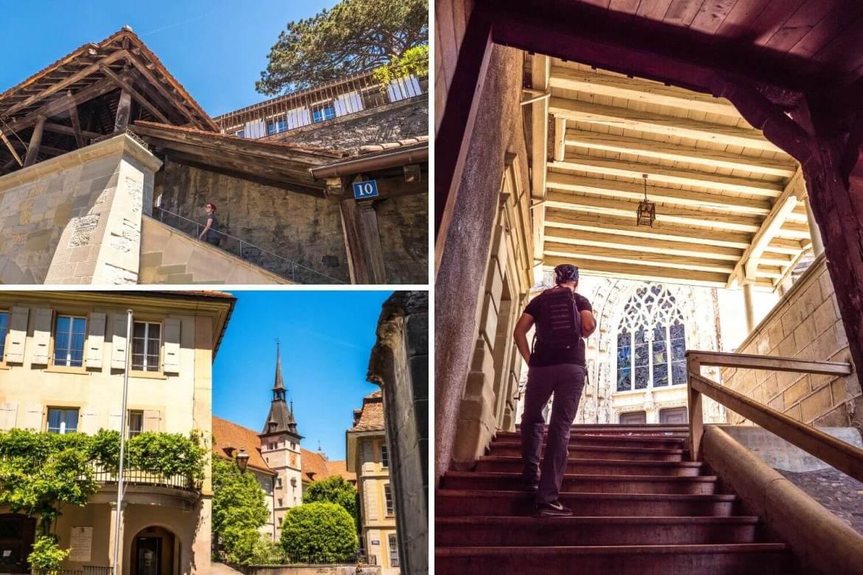 Visiter autour de la cathédrale de Lausanne