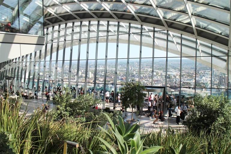 Visiter le Sky Garden à Londres