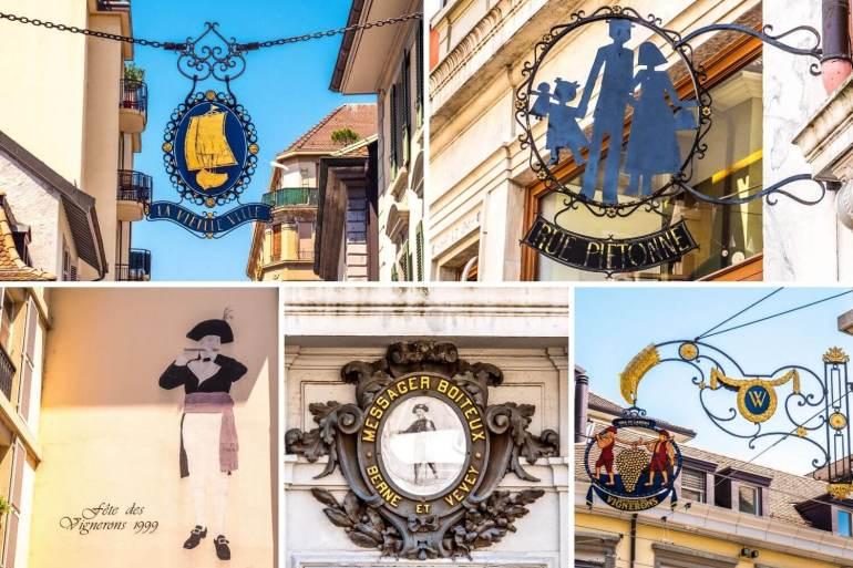 Détails Vieille ville de Vevey