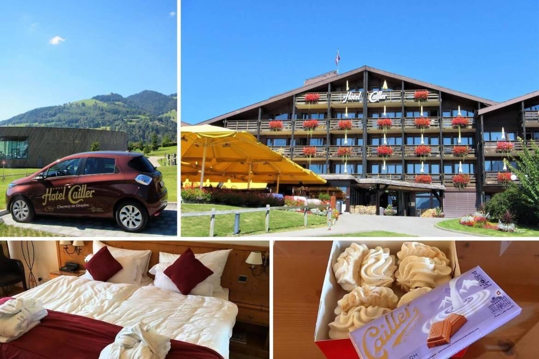 Week-end romantique en Suisse à l'Hôtel Cailler à Charmey