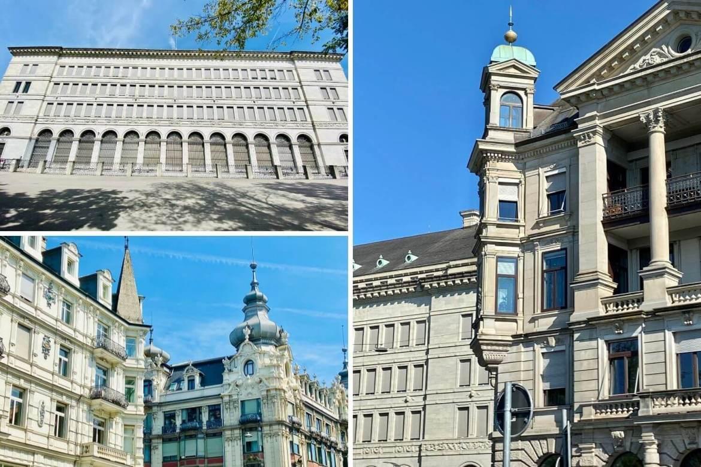 New Building et Banque nationale Suisse à Zurich