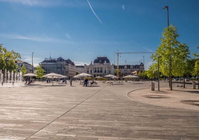 Sechseläutenplatz, Bellevue et Opéra