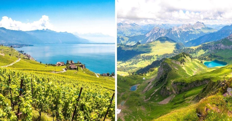 Randonnées autours de Montreux