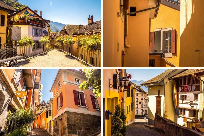 Vielle ville de Montreux