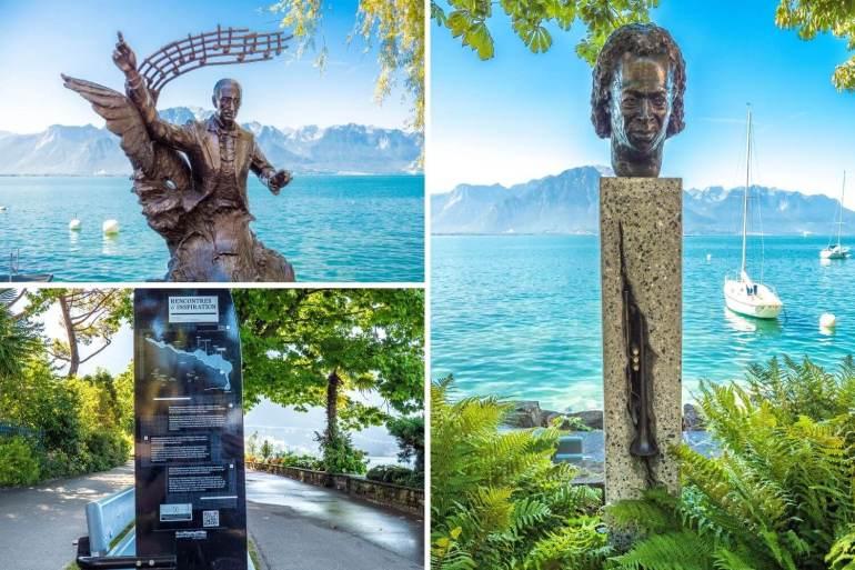 Visiter Montreux et découvrir ses célébrités
