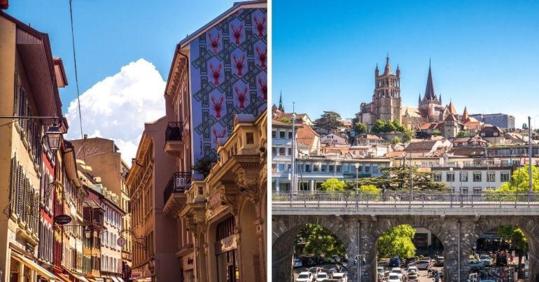 Visiter Vevey et Lausanne villes aux alentours de Montreux