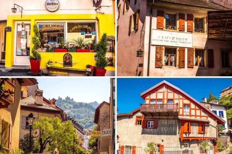 Visiter la vielle ville de Montreux et ses ruelles colorées