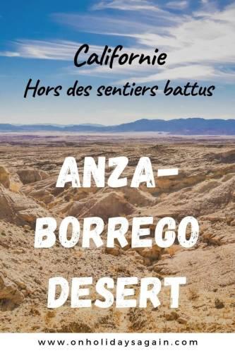 Californie hors des sentiers battus, 2 jours à l'Anza Borrego Desert State Park