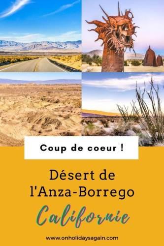 Désert de l'Anza Borrego Californie, infos pratiques et randonnées