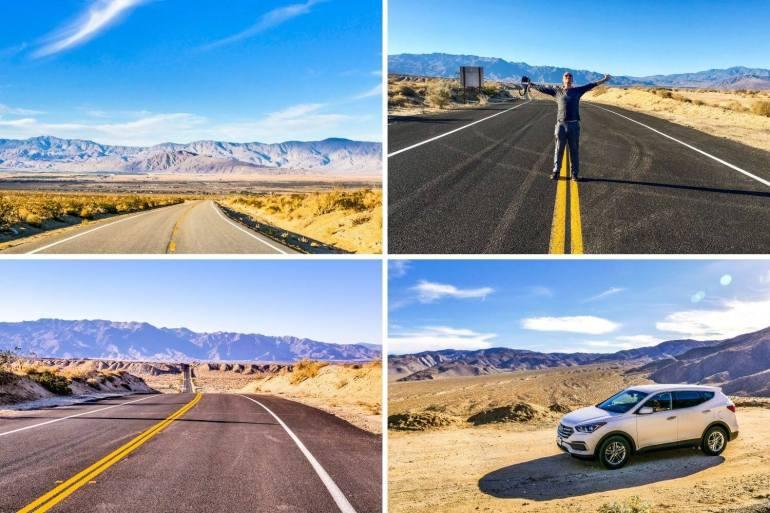 Routes Anza Borrego Desert State Park Californie