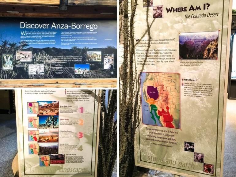 Visitor Center Anza Borrego Desert State Park Californie