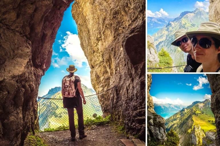 Grotte dans Oberberghorn Schynige Platte