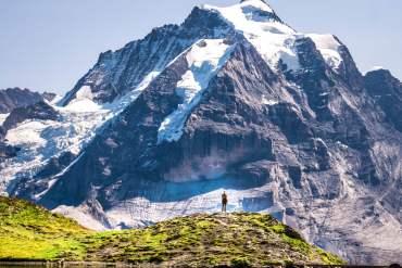 Schilthorn Grauseeli vue Jungfrau