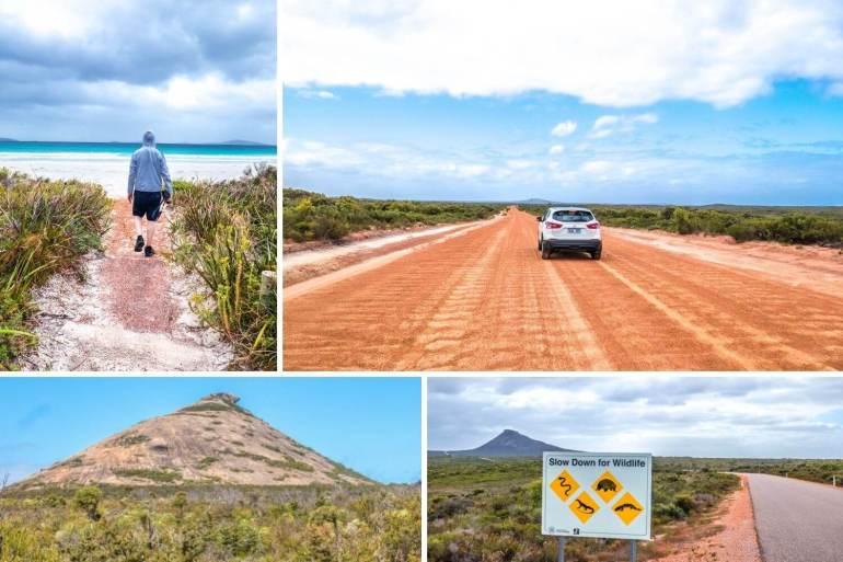 Cape Le Grand National Park côte sud ouest Australie