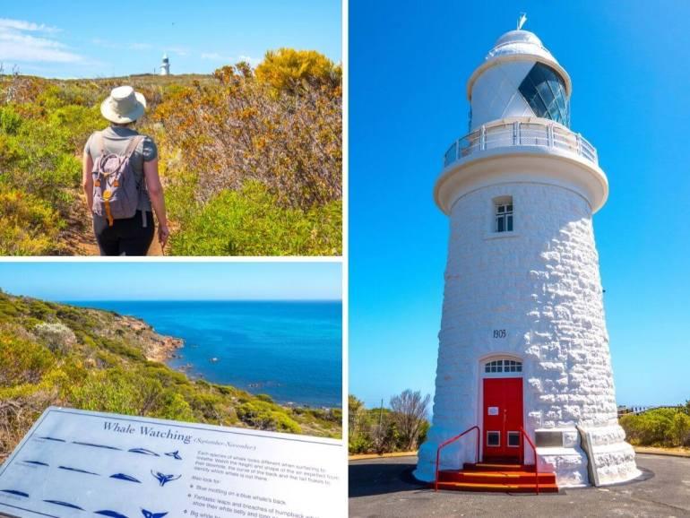 Cape Naturaliste Lighthouse côte ouest Australie
