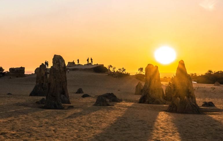Désert des Pinacles côte ouest Australie