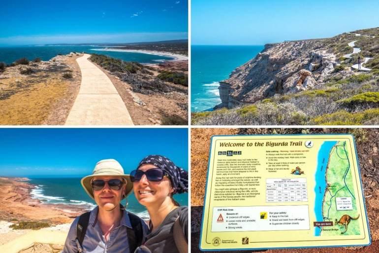 Kalbarri National Park falaises côte ouest Australie