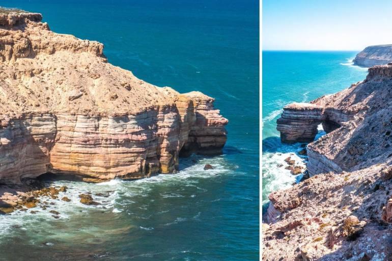 Kalbarri Natural Bridge côte ouest Australie