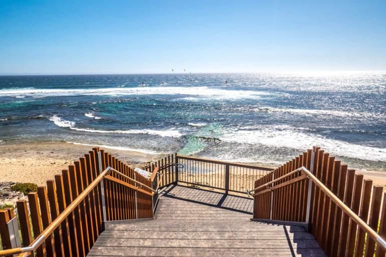 Margaret River plage côte ouest Australie