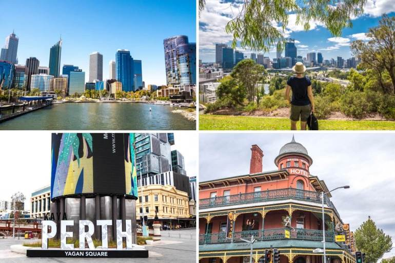Perth côte ouest Australie