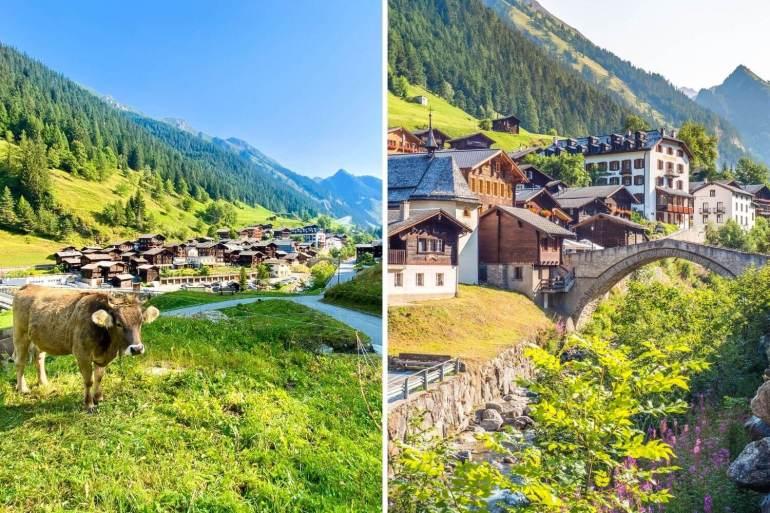 Binn Vallée de Binn Week-end romantique Valais