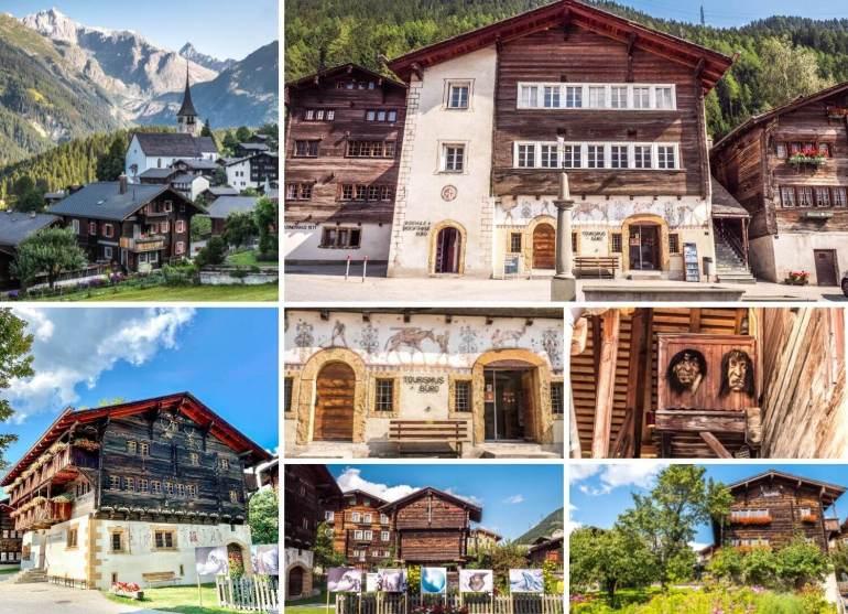 Ernen Vallée Binn week-end romantique Valais
