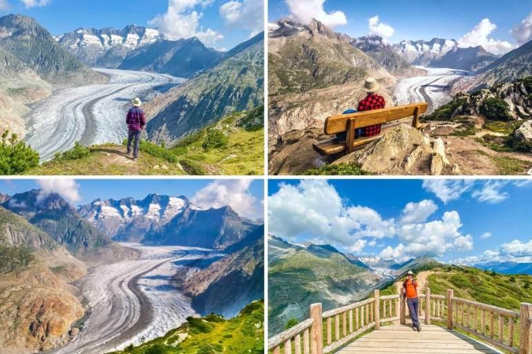 Glacier Aletsch Points de vue week-end Valais