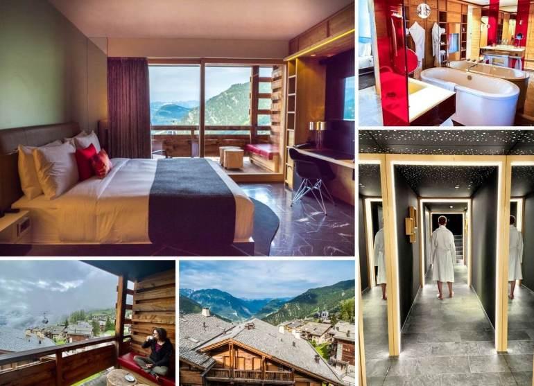 Hotel W chic et cosy week-end romantique Verbier