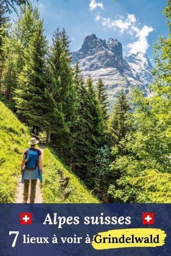 Alpes suisses Grindelwald