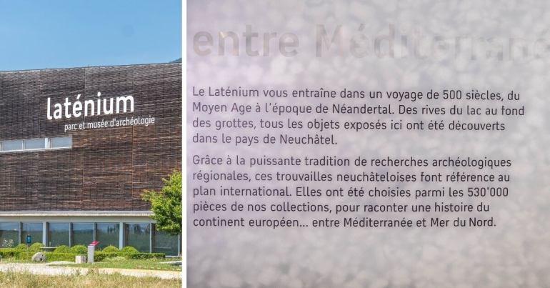Musée Laténuim Neuchâtel