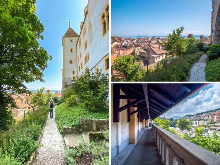Remparts à visiter Neuchâtel
