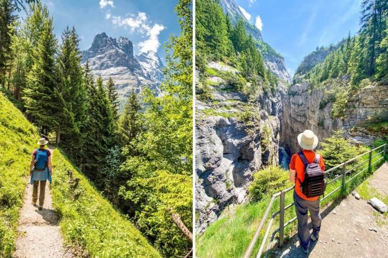 Randonnée Pfingstegg gorges Grindelwald