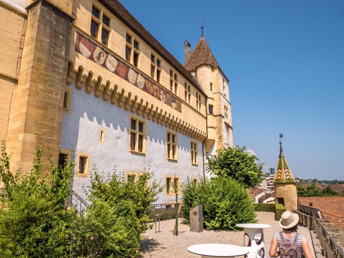 Visiter Neuchâtel et son château