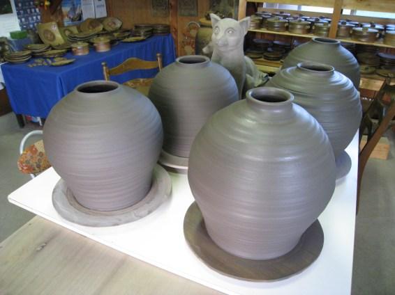 大壺作陶しました